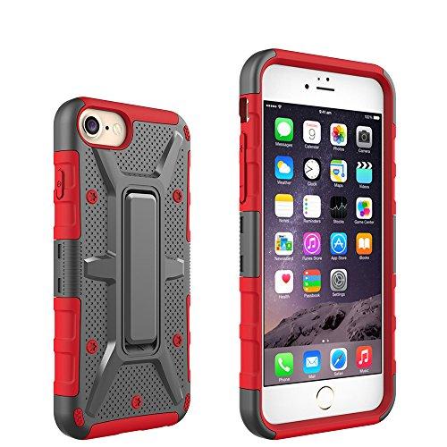 MQMY iphone6 coquille iphone6s coquille boîte à couvercle iphone6 boîte à couvercle iphone6s durable anti chute maille dissipation de chaleur support étagère empêcher poussière