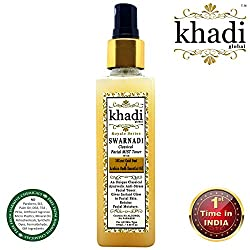 Khadi Global Swarnadi Classical Facial MIST Toner With 24K Gold Dust & Arabian Oudh Essential Oil | First Time In INDIA With Anti-Stress, Anti-Pollution & Anti- Ageing Properties 100ml.