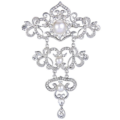 ever-faith-plaque-argent-cristal-creme-perle-artificielle-couche-floral-broche-transparent-n06783-1