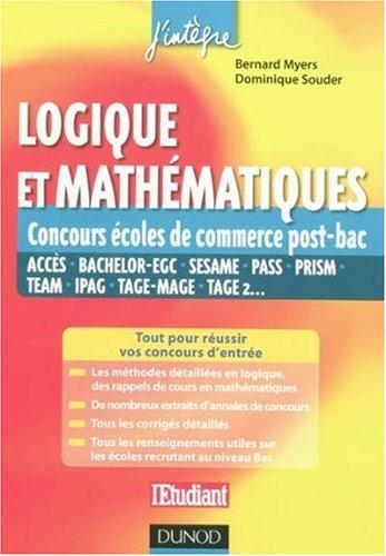 Logique et mathématiques : Concours des écoles de commerce