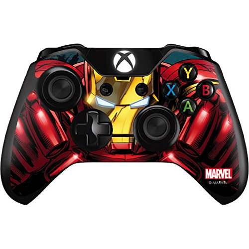 Marvel Ironman Xbox One Controller Skin-Ironman Close up Vinyl Aufkleber Skin für Ihr Xbox One Controller
