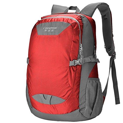 sacchetto di alpinismo/borse a tracolla/borsa sportiva-Army Green 40L rosso
