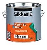 Sikkens Cetol Holzlasur: BL Decor 1 Liter : 030 Opalweiß