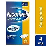 Nicotinell Kaugummi 4 mg Tropenfrucht, 96 St. – Für die schrittweise Raucherentwöhnung und den sofortigen Rauchstopp geeignet