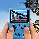 TAOtTAO Spielkonsole für Kinder Retro Mini-Handheld-Videospielkonsole Integrierte 168 Klassische Spiele (B)