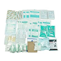 160 Piece First Aid Kit Bag Refill Kit - Includes Eyewash,Instant Cold Pack, Bandages, Emergency Blanket, Moleskin Pad, Gauze - Extra Replacement Medical Supplies for First Aid 7