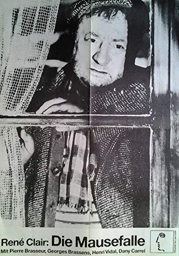 1957 Poster (René Clair: Die Mausefalle (1957)   original Filmplakat, Poster [42 x 60 cm, Din A2])
