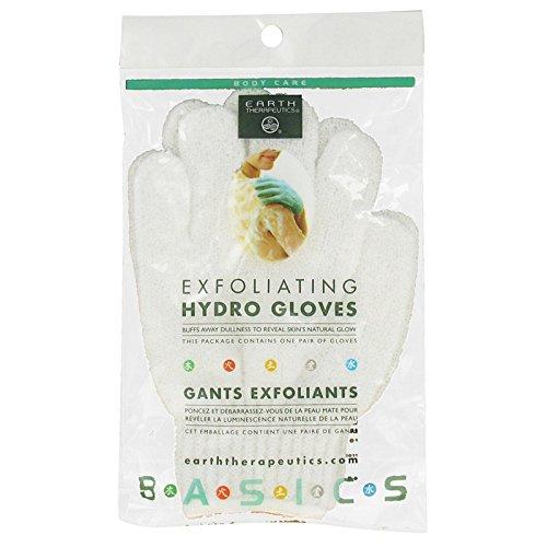 Earth Therapeutics Exfoliating Hydro Gloves, Pair