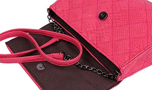 Borsa Lingge Spalla Del Pacchetto Catena Di Moda Sacchetto Di Svago Ms. Messenger Bag Red