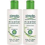 Simple Micellar Cleansing Water 6.7oz (2 Pack)