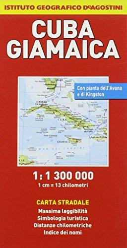 Cuba, Giamaica 1:1.300.000 (Carte stradali estero)