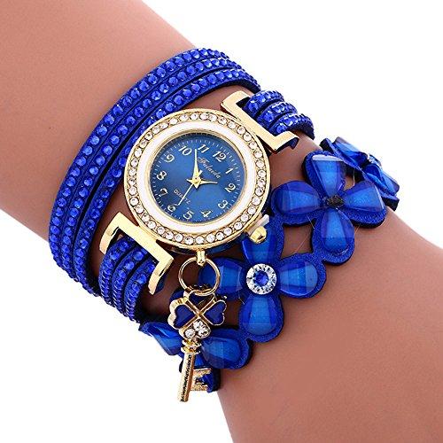 Uhren DamenArmbanduhr Fashion Chimes Diamond Sportuhr Lederarmband Watch Luxus Armband Exquisit Uhr Klassisch Uhr,ABsoar