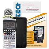 Casio FX-9860 G II + CalcCase GTR Schutztasche + Buch: Im Fokus II: Casio FX-9860GII verständlich erklärt + Displayschutzfolie + Garantieverlängerung auf 60 Monate