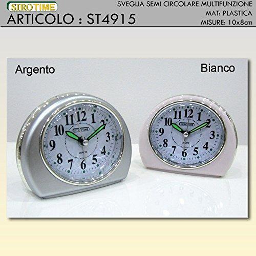 Siro Time Wecker, Silber, Einheitsgröße