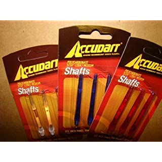 Accudart Polycarbonate Shafts 3/16 (2BA) by ACCUDART