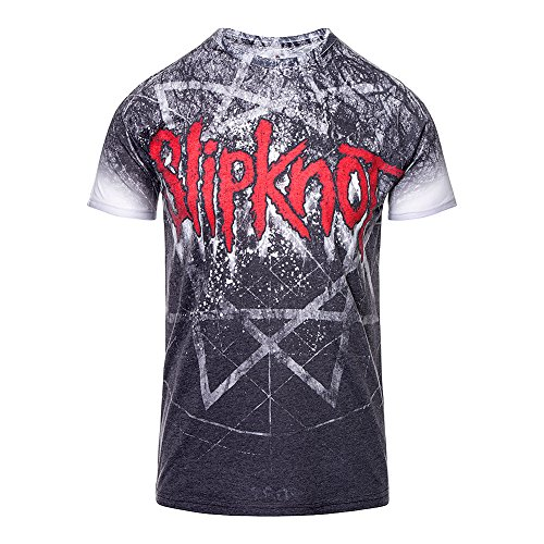 T Shirt Giant Star Slipknot (Grigio) - XX-Large