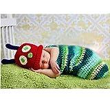 Handgestrickte Babykleidung Pullover Fotografie Dienst (Raupen)