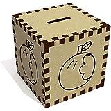 'Angebissenen Apfel' Sparbüchse / Spardose (MB00046011)
