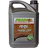 Biodegradierbares Sägekettenhaftöl IGOL für Kettensäge und Langastschneider - 5 Liter