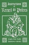 Instructions recueil prières