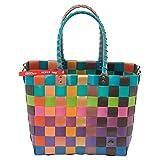 """Witzgall ICE-BAG Shopper """"5010-99"""" Original! Einkaufskorb, Einkaufstasche, Shopping-Bag ***Neue Ice-Bag-Kollektion 2015!*** bunt - orange, braun, grün"""