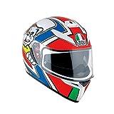 AGV 0301A2EY_037_L K-3 SV E2205 Helm MULTI PLK, Mehrfarbig, Größe L
