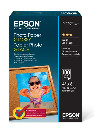 "Epson Photo Paper Glossy 4"" x 6"" 100s - photo paper for sale  Delivered anywhere in UK"