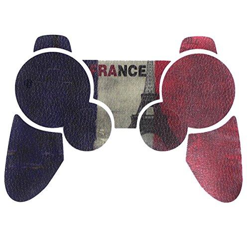 Autocollant Sticker pour Sony Manette PS3 Playstation 3 – French Flag [Manette Non inclus]