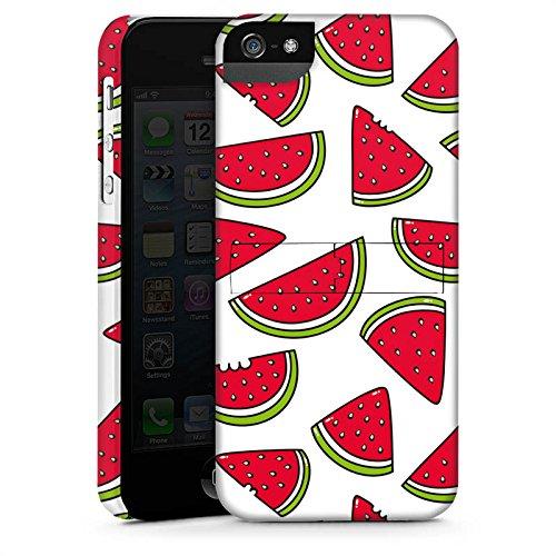 Apple iPhone X Silikon Hülle Case Schutzhülle Melone Sommer Essen Premium Case StandUp