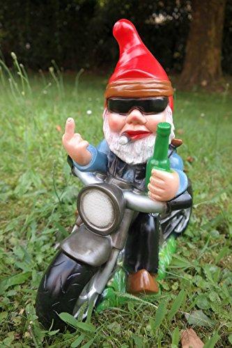 Rude Motorbike gnome