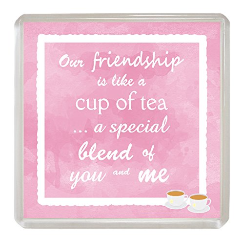 Unsere Freundschaft NEUHEIT Untersetzer Drink Matte Fun Sentimental, Best Friend Geschenk