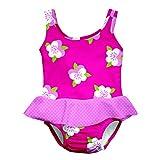 Iplay Baby Badeanzug/Tanksuit UV-Schutz 50+, Fuchsia Pansy S