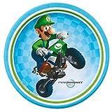 Tortenaufleger Tortenfoto Aufleger Foto Super Mario Bros (35) rund ca. 20 cm *NEU*OVP*