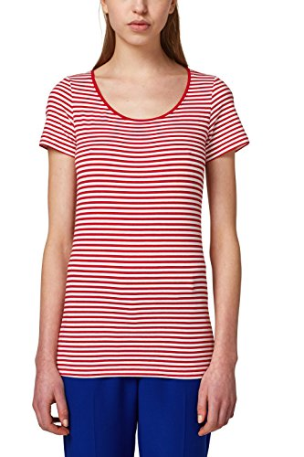Die Beste ESPRIT Damen T-Shirt 028EE1K004, Rot (Red 4 633), Medium ... 33b540ae82