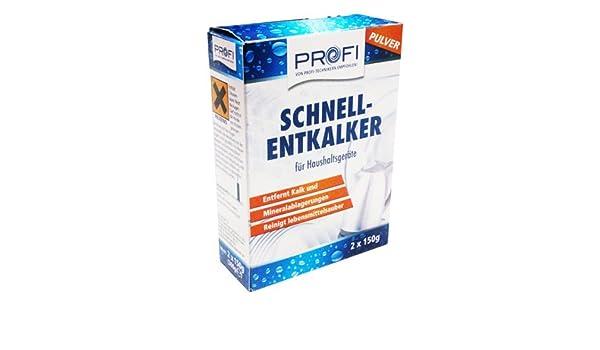 Profi Schnellentkalker 2x150g Amazonde Küche Haushalt