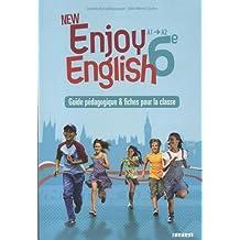 Anglais 6e A1-A2 New Enjoy English : Guide pédagogique & fiches pour la classe