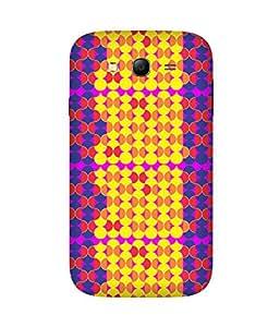 Stripes And Elephant Print-85 Samsung Galaxy Grand 3 Case