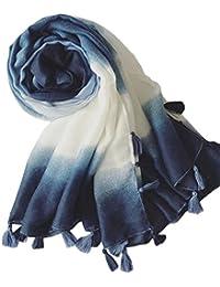 Demarkt Femme Longue Écharpe Châle souple Couleur unie Belle Elégant Écharpe Accessoire Pour Automne Hiver-100x180cm