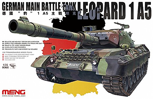 Meng TS-015 - Modellbausatz German main Battle Tank Leopard 1 A5