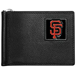 MLB San Francisco Giants Leather Bill Clip Wallet