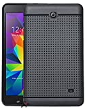 #7: Jkobi 360* Protection Premium Dotted Designed Soft Rubberised Back Case Cover For Samsung Galaxy Tab 4 7.0 T231 -Black