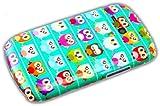 thematys Samsung Galaxy S3 Mini i8190 / i8200 Eulen Grün Owl Hard Case Schutz-Hülle Cover Etui