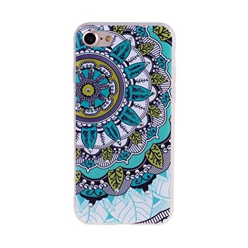 Ouneed® Für iPhone 7 Hülle, Rhinestone Diamond Retro Pattern Phone Case Cover für iPhone 7 / 4.7 Zoll (4.7 Zoll, E) F