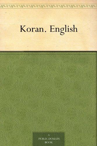 Koran. English (English Edition)