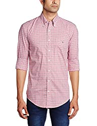 Gant Mens Casual Shirt (8907259568034_GMSIB0033_Large_Light Red)