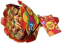 Idea Regalo - Chupa Chups Lollipop Flower Bouquet, confezione da 19 Pezzi