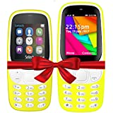 I KALL K3310 (Yellow) And K35(Yellow) Combo Of Dual Sim Mobile With 101 Days Replacement Warranty With 1 Year Manufacturer Warranty