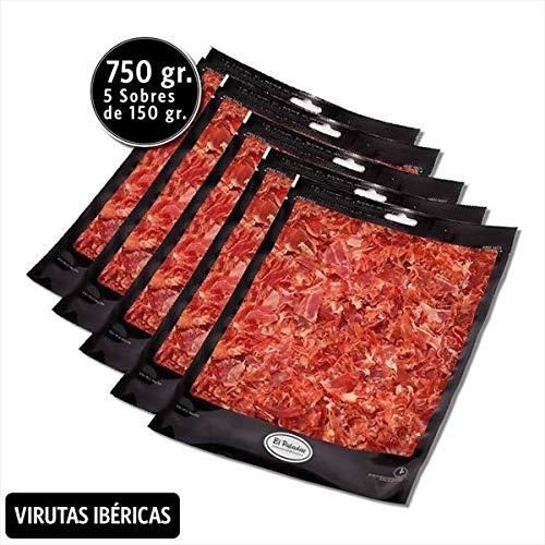 PACK VIRUTAS IBÉRICAS 150G. x5