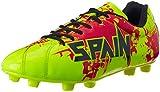 Nivia Destroyer Spain Football Shoes, UK 8 (Lemon Yellow/Red)
