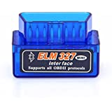 Mini ELM327 Bluetooth OBD2 OBD II Diagnosegerät Testgerät Interface Scanner Auto